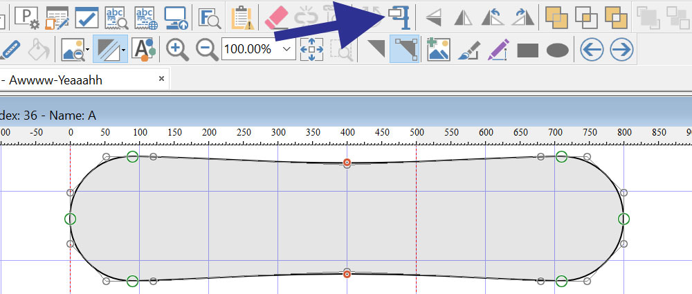 Optimize contours with correct points at extrema