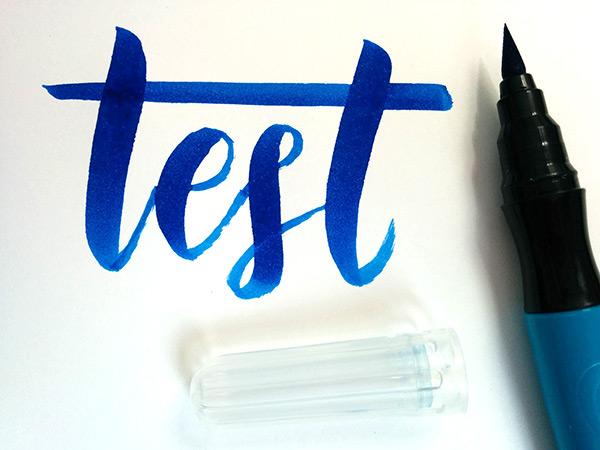 Crayola Paint Brush Pens Test