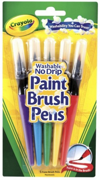 Crayola Paint Brush Pens