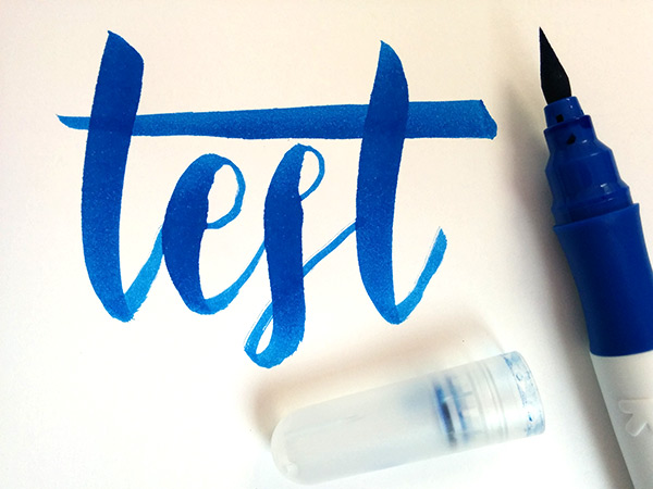 Target Paintbrush Marker Test