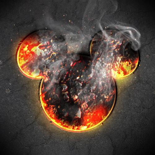 Scorching hot Mickey!