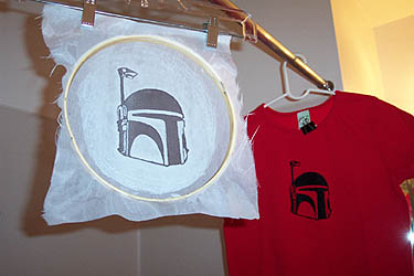 Create your own screen prints; the geekier the better.
