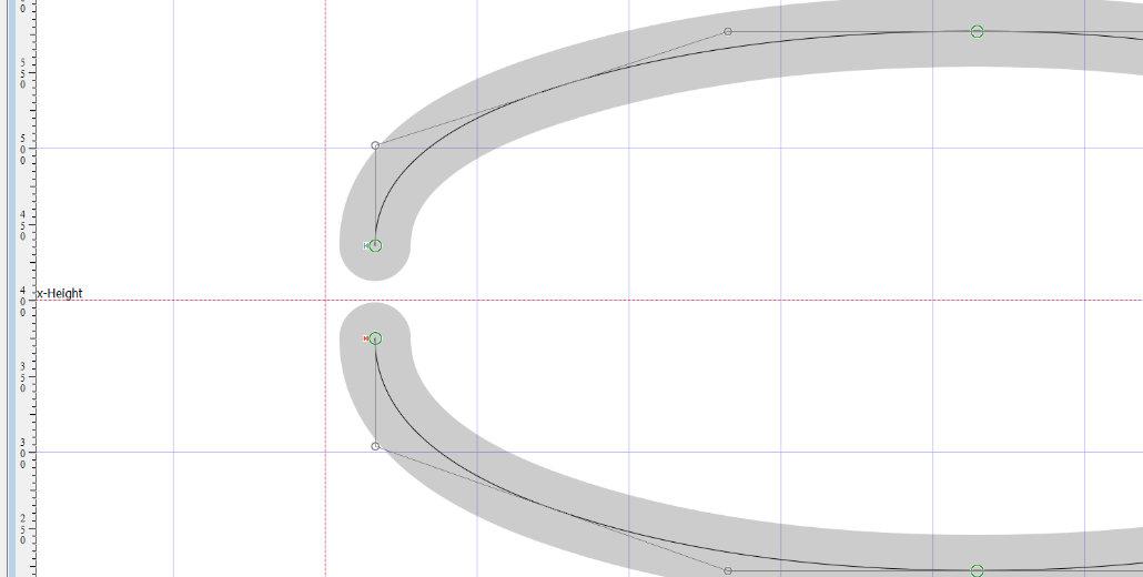 Single-Line Font Basics: Open Contour