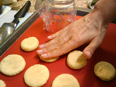Shortbread style cookies