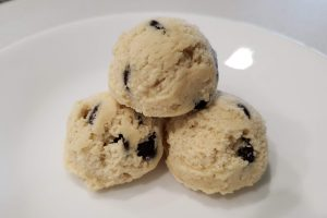 Gluten free cookie dough balls