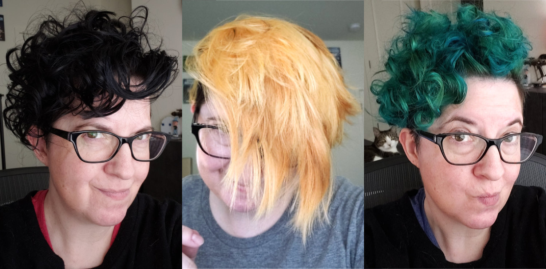 Quarantine hair color process