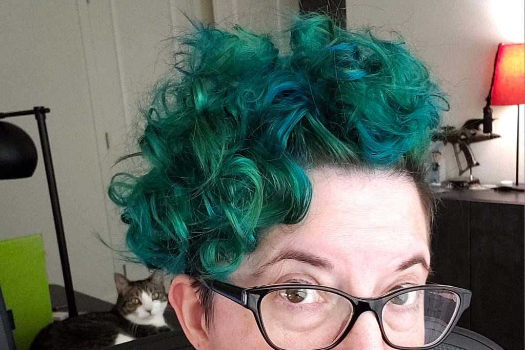 Quarantine Hair 2: The final blue-green