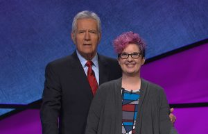 Hanging with my homey, Alex Trebek!
