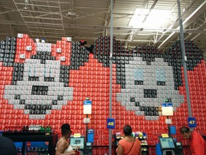 A Wal-Mart in Florida.
