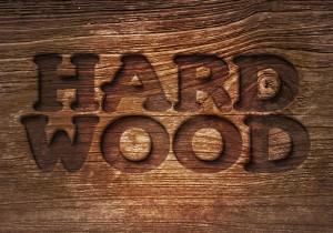 Carved wood.