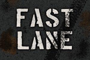 Photoshop text effect - road stencil tutorial